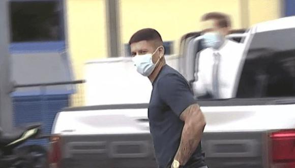 Marcos Rojo llegó a La Bombonera para ser nuevo jugador de Boca Juniors. (Foto: Infobae)