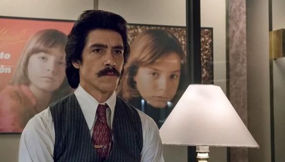El actor Óscar Jaenada dio vida al personaje de Luisito Rey, padre de Luis Miguel. (Créditos: Captura de imagen)