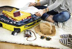 Cómo armar tu maleta de viaje en solo 30 minutos