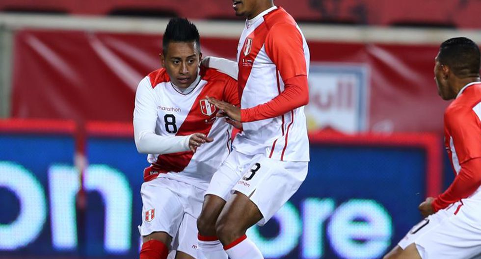 Christian Cueva anotó el gol del triunfo en el Perú vs. Paraguay. (Foto: Daniel Apuy / GEC)