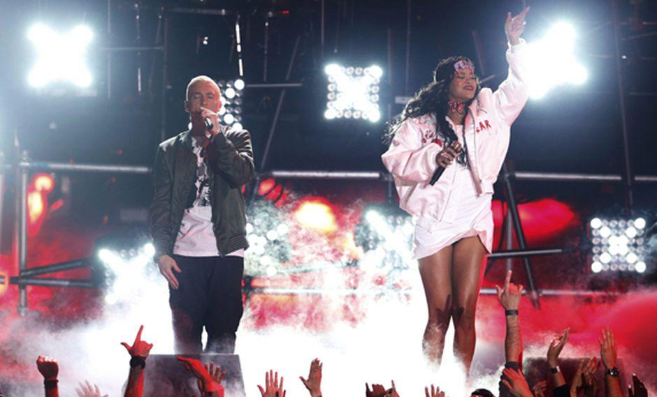"""Eminem y Rihanna: una mirada a los """"monstruos"""" de Spotify"""