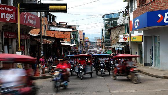 La ciudad de Tarapoto es el