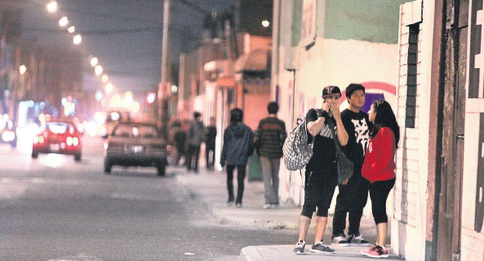 Principales vías de San Miguel a merced de la delincuencia