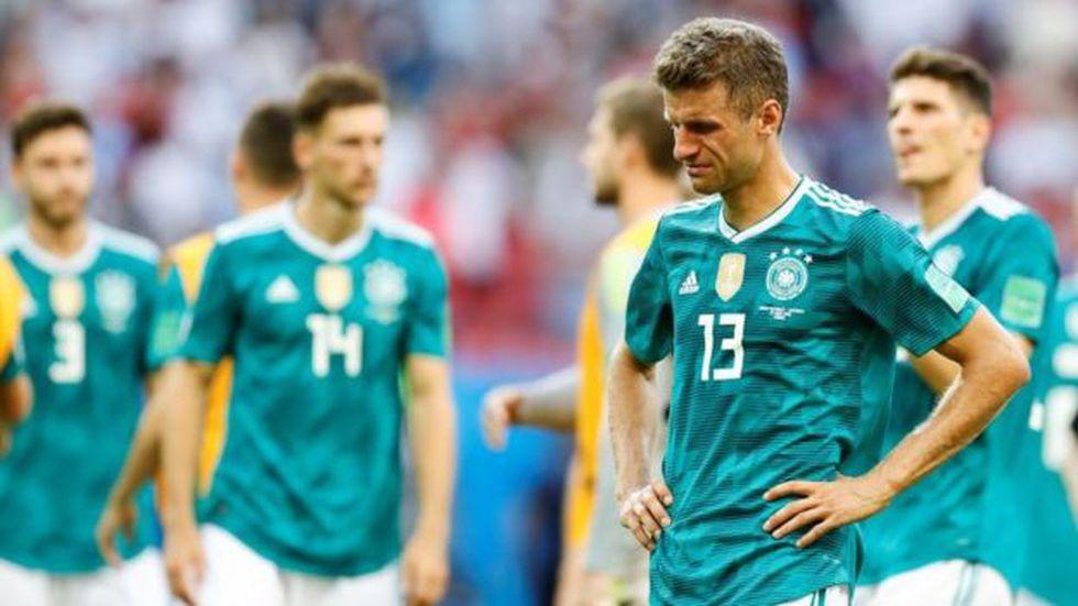 Alemania fue la selección que tuvo más precisión en el pase, la que más veces penetro el área contraria y la que más centros tuvo. (Foto: Getty Images)