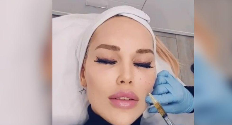 Hasta le momento, la modelo Tessa Texas ha gastado más de 50 mil euros para parecerse a los filtros de Snapchat (Foto: Instagram de tessatexas.official)