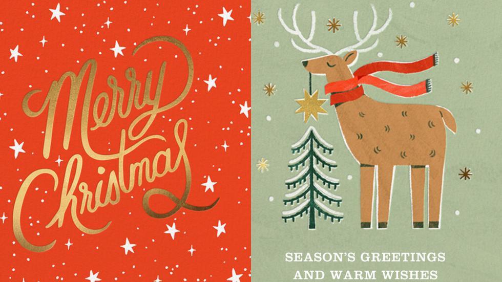 Descubre cinco aplicaciones para crear tarjetas para tus familiares y amigos en estas fiestas navideñas. (Foto: Captura de pantalla)