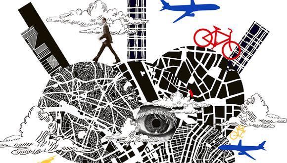 """""""¿Cuál va a ser el futuro de las ciudades? Nadie lo sabe"""". (Ilustración: Giovanni Tazza)"""