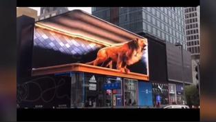 Viral: Realidad virtual usada en publicidad asusta a transeúntes