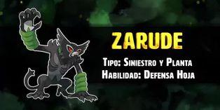 Zarude: conoce al siguiente pokémon singular de la franquicia
