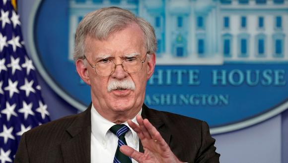 John Bolton fue despedido por Donald Trump de su puesto de asesor de Seguridad Nacional de la Casa Blanca. (Reuters).