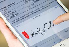 Adobe presentó app para insertar tu firma en documentos PDF