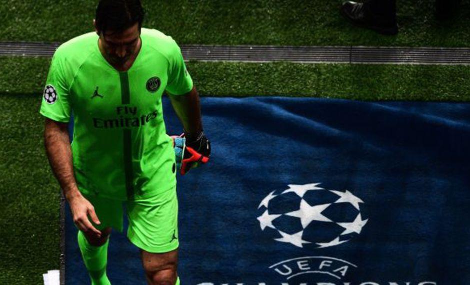 Gianluigi Buffon volvió a quedar con las ganas de ser campeón en la Champions League. (Foto: AFP)