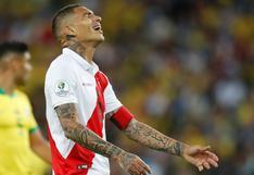 Paolo Guerrero no fue incluido en la convocatoria de la selección peruana para la Copa América 2021