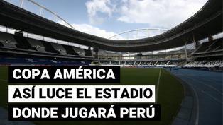 Así luce el estadio Nilton Santos a un día del partido entre Perú y Brasil