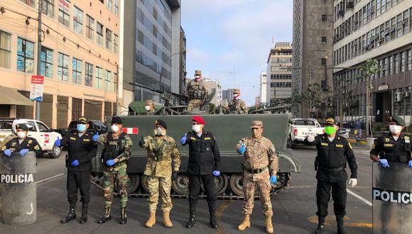 Fuerzas Armadas y PNP participaron en operaciones conjuntas en Lima y Callao. (Foto: Mindef)