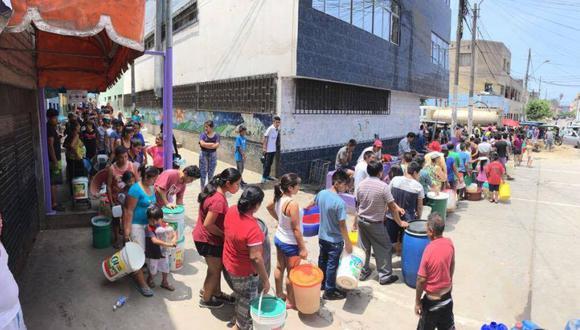Los distritos de Lima que todavía reportan corte de agua