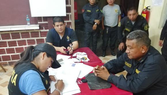 El agente Álex Morgan fue detenido cuando vestía el uniforme de la Policía Nacional. (Foto: Daniel Carbajal)