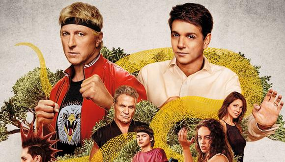 """""""Cobra Kai"""" es protagonizada por William Zapka y Ralph Macchio, ambos del elenco original de """"Karate Kid"""" (Foto: Netflix)"""