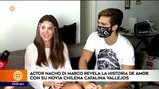 Actor Nacho Di Marco cuenta su historia de amor con la modelo chilena Catalina Vallejo