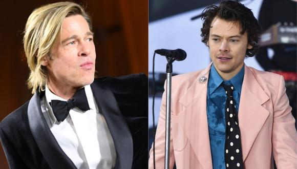 "Brad Pitt y Harry Styles trabajarán juntos en ""Faster, cheaper, better"". (Foto: VALERIE MACON / AFP 