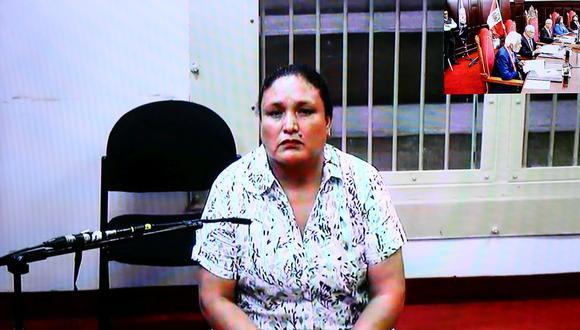 Abencia Meza seguirá en prisión tras decisión del Poder Judicial. (Foto: Hugo Curotto)