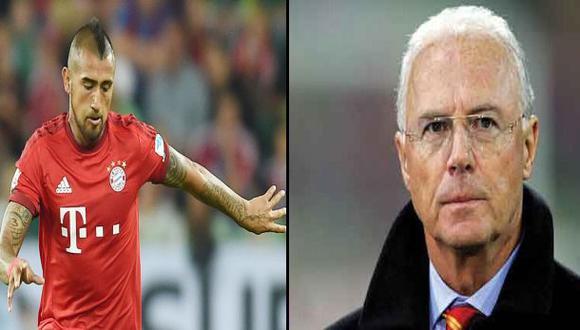 Bayern Múnich: Beckenbauer cuestionó actitud de Arturo Vidal