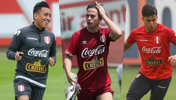 Cueva, Benavente y Da Silva no han durado más de una temporada en el mismo club en los tres últimos años. (Foto: El Comercio)
