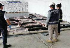 Tumbes: Produce decomisa más de 22 toneladas de tiburón de origen ilegal