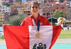 Suramericanos 2018: Paola Mautino bate récord nacional en 100 metros luego de 40 años