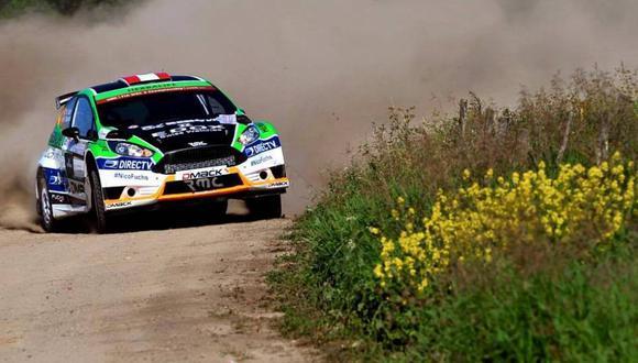 Rally Polonia: Nicolás Fuchs se mantiene entre los 7 primeros