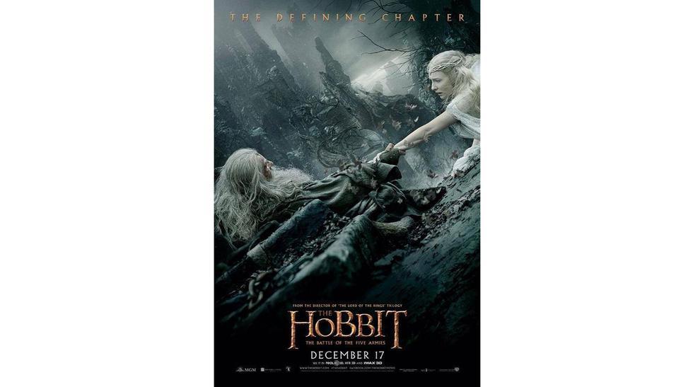 """Los pósters de """"El Hobbit: La batalla de los cinco ejércitos"""" - 1"""