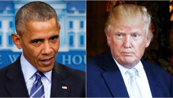 Obama alerta a Trump contra abandono del acuerdo de Paris