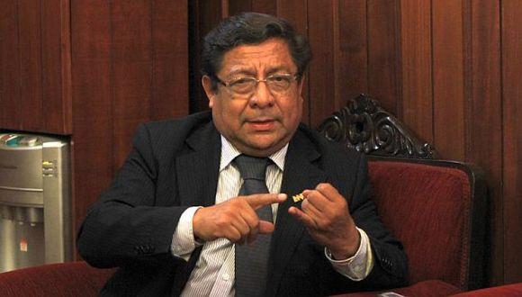 Velásquez llegó al CNM elegido representante de las universidad públicas del país. (Foto: Archivo El Comercio)