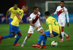 Perú perdió 4-2 ante Brasil en Lima por Eliminatorias Qatar 2022