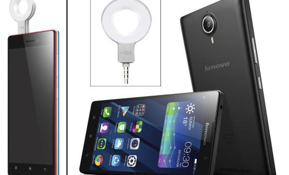 CES 2015: Lenovo presentó este flash especial para selfies