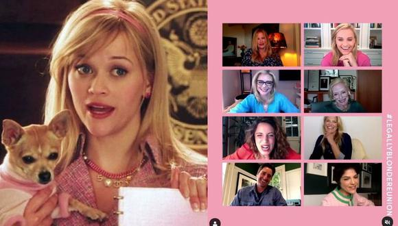 """Reese Witherspoon reunirá virtualmente al elenco de la película """"Legalmente rubia"""" por una buena causa. (Foto MGM/Captura de video)"""