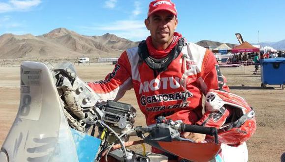 Dakar 2015: Felipe Ríos abandonó el Dakar por problema mecánico