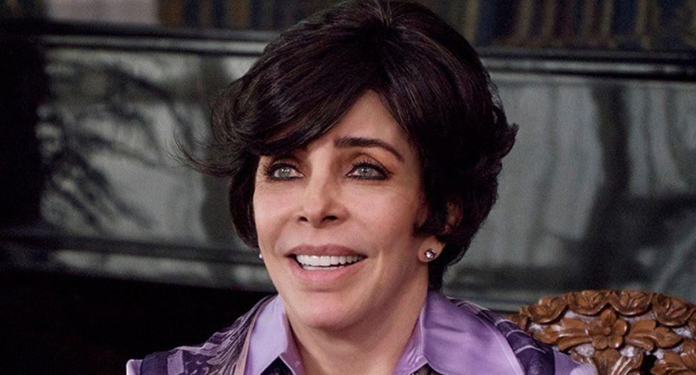 """Verónica Castro, interpretando a Virginia de la Mora en """"La casa de las flores"""". (Foto: Difusión)"""