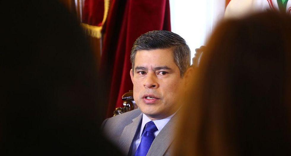 Galarreta anunció que la Junta de Portavoces decidió acatar el pedido de Martín Vizcarra, quien convocó a pleno extraordinario para poder evaluar la remoción de todo el CNM. (Congreso de la República)