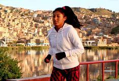 Runner Sofía Mamani: una historia de éxito basada en sacrificios