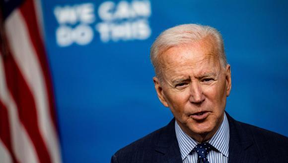 El presidente de Estados Unidos, Joe Biden, anunciará la donación de 500 millones de vacunas contra el coronavirus de Pfizer. ( EFE/EPA/Samuel Corum).