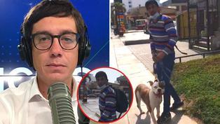 Periodista Jaime Chincha denuncia mordedura de perro pitbull, pide ayuda y dueño huye