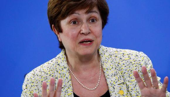Kristalina Georgieva, jefa del FMI. (Foto: Archivo)