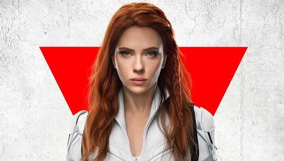 """Scarlett Johansson en el nuevo póster de """"Black Widow"""" (""""Viuda Negra""""), que tiene nueva fecha de estreno. (Foto: Disney+)"""