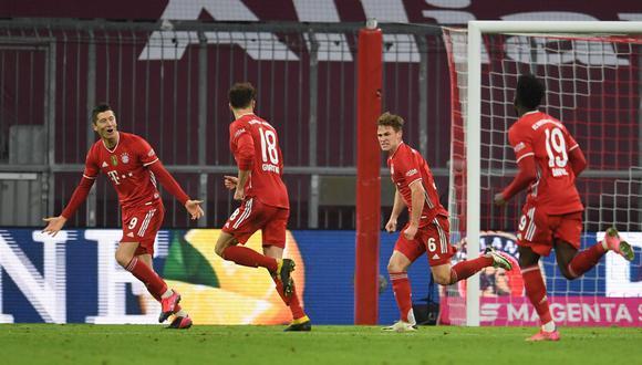 Bayern Múnich lleva siete triunfos en esta edición de la Champions League.   Foto: REUTERS