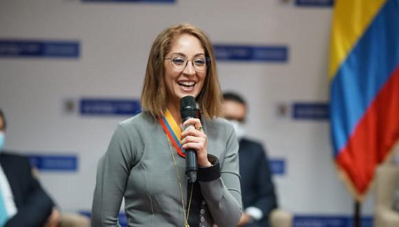 Jennifer Arias fue elegida como presidenta de la Cámara de Representantes en Colombia y generó todo un revuelo político en su país. (Foto: Twitter @JenniferAriasF)
