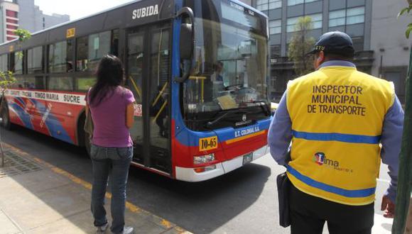 Dieciséis empresas operarán corredores complementarios de Lima