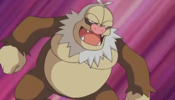 Slaking, uno de los pokémones más fuertes de la tercera generación y de Pokémon Go. (Foto: Tv Tokio)