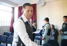 Apurímac: amplían a 4 meses más la prisión preventiva para el exgobernador regional