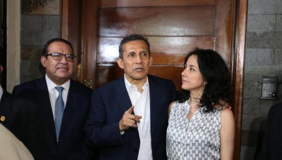 Humala y Heredia cumplieron prisión preventiva desde julio del 2017 hasta abril del 2018, fecha en la que el TC acogió un hábeas corpus interpuesto por su defensa legal. (Foto: GEC)